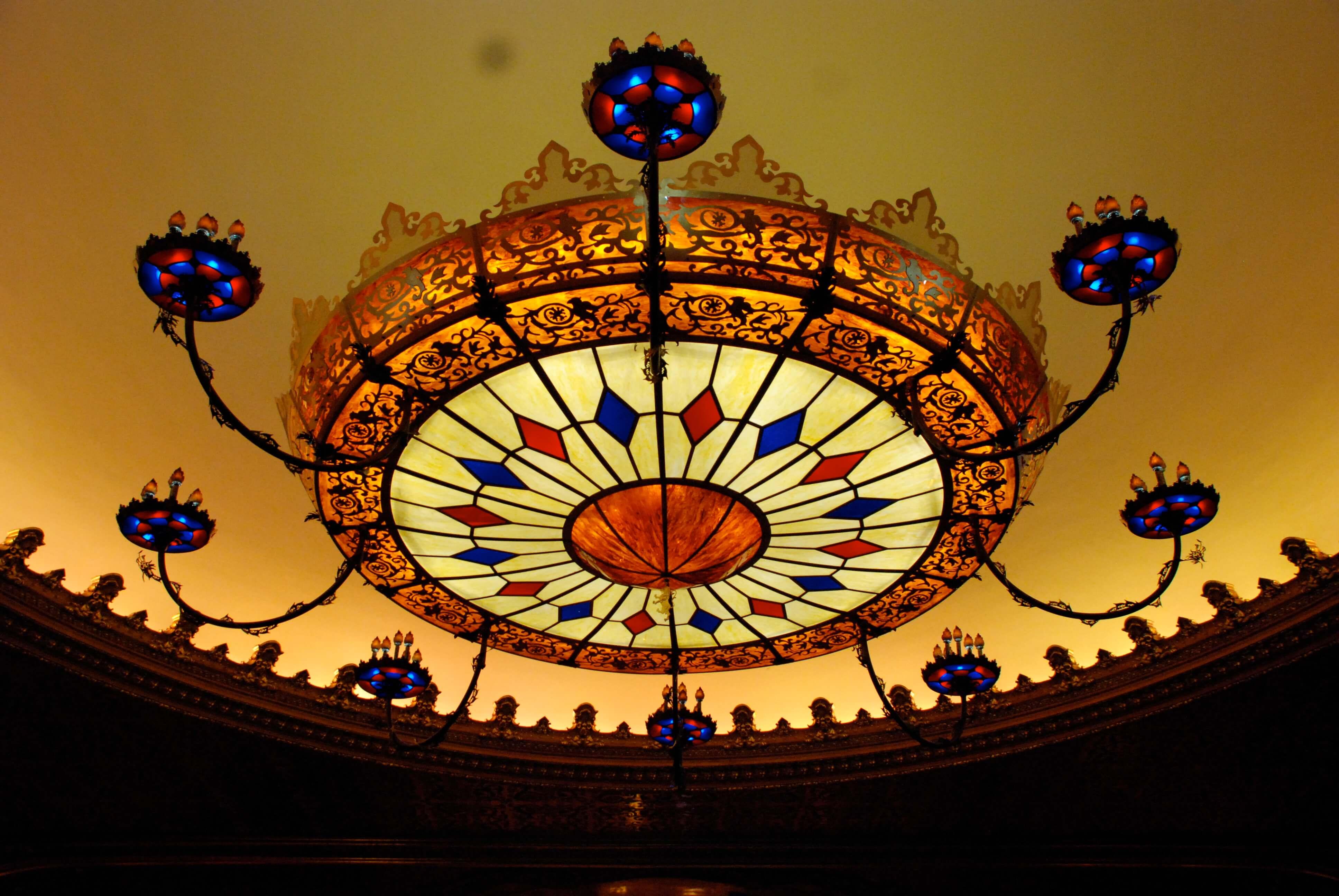 The Stanley Theatre chandelier
