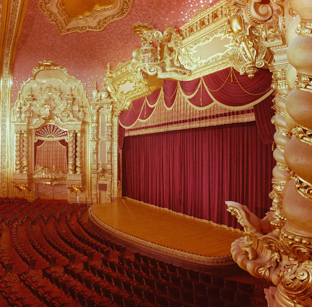 The Stanley Theatre Stage
